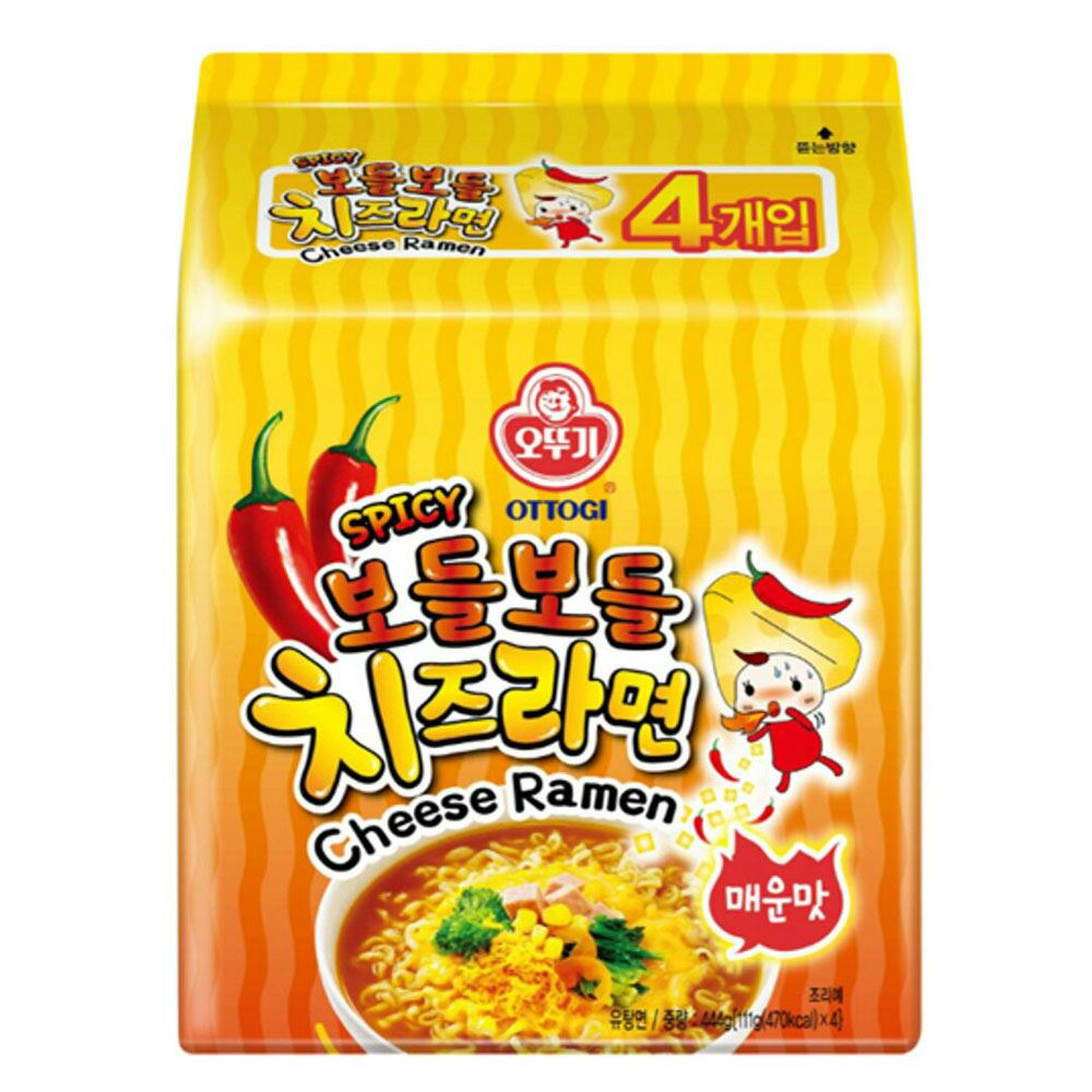 Ottogi Spicy Cheese Ramen Multipack