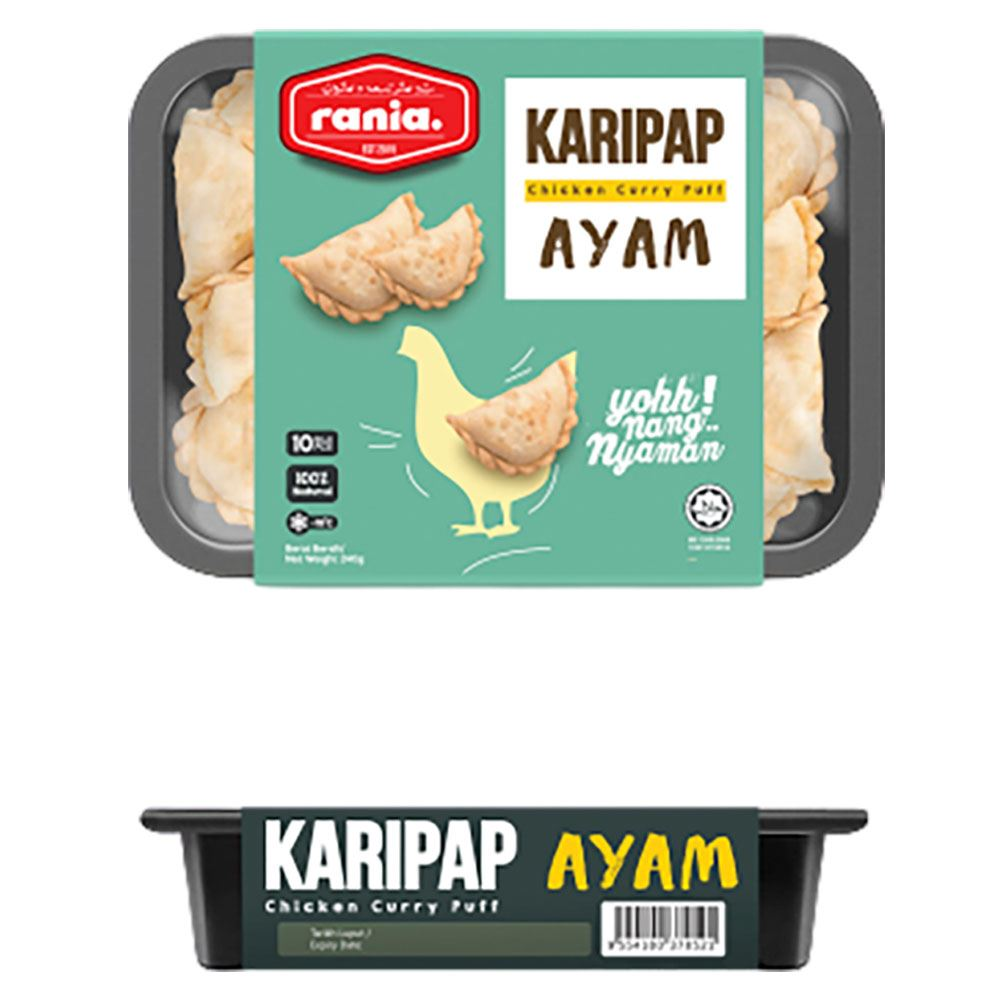 Rania  Karipap Ayam (Chicken Currypuff)