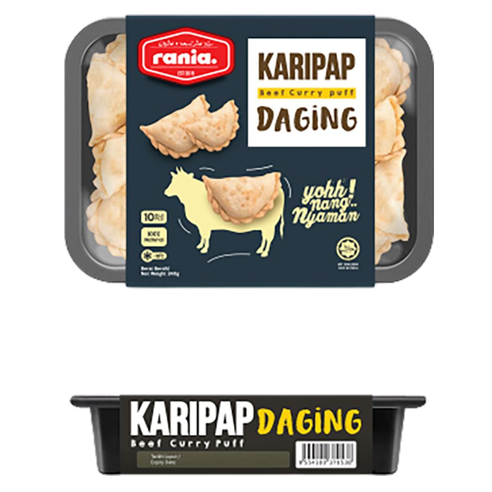 Rania Karipap Daging (Beef Currypuff)