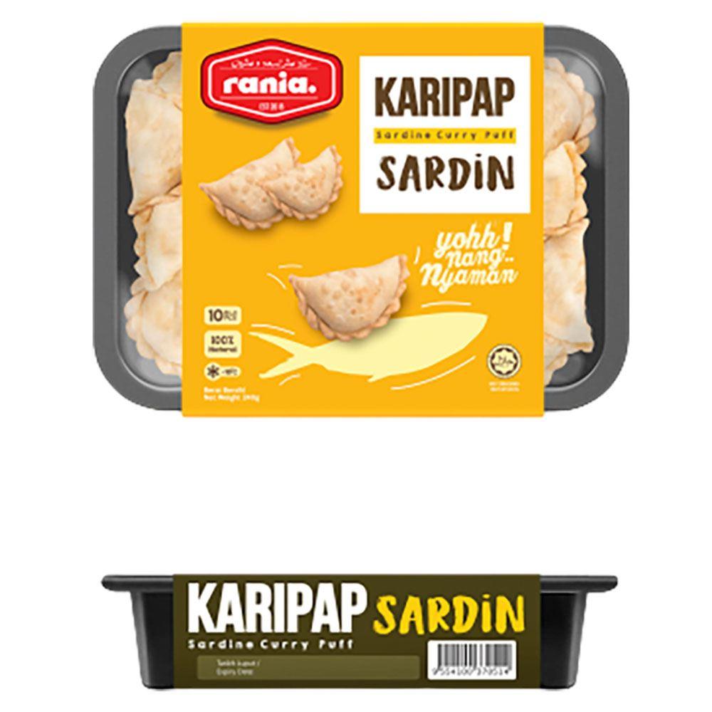 Rania Karipap Sardin (Sardine Currypuff)