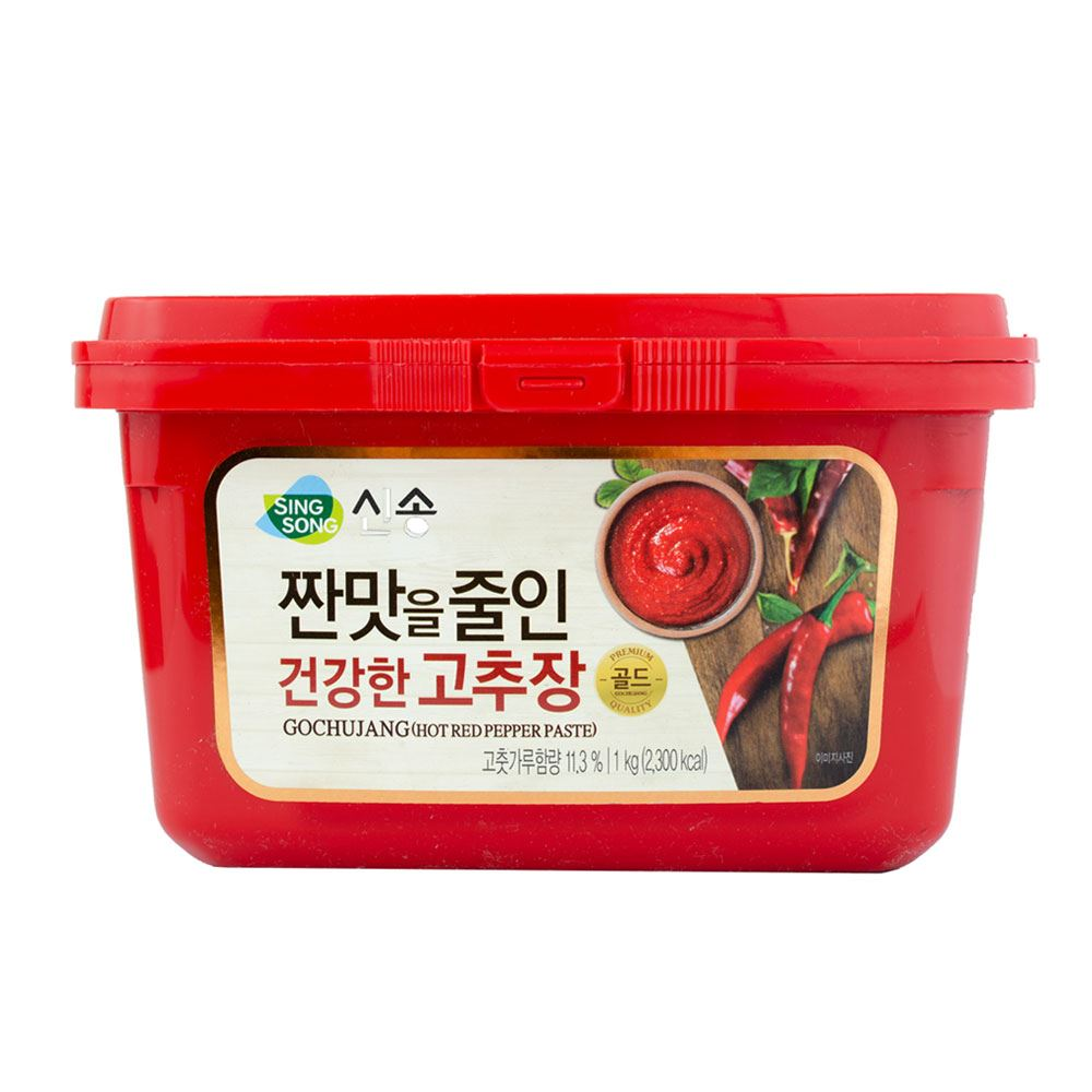 Singsong Red Pepper Paste Gochujang Less Sodium