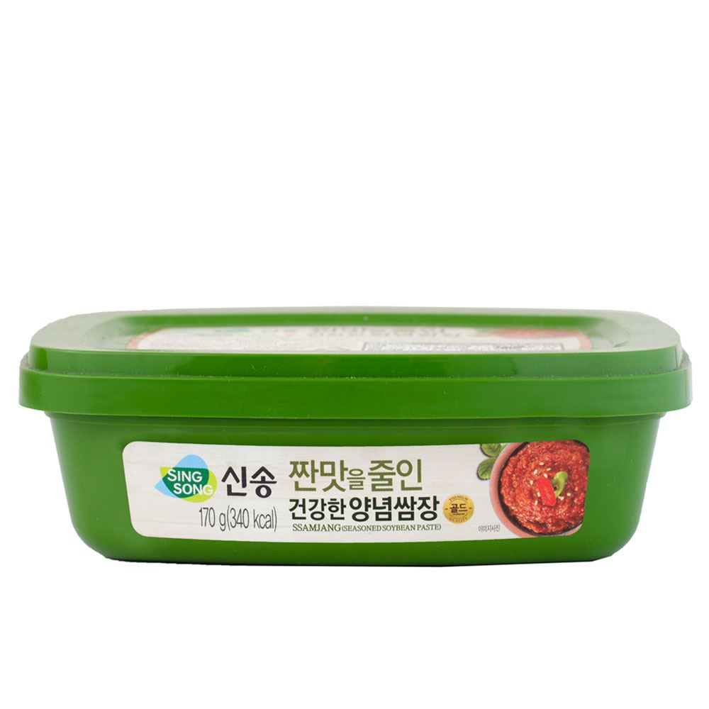 Singsong Seasoned Soybean Paste Less Sodium