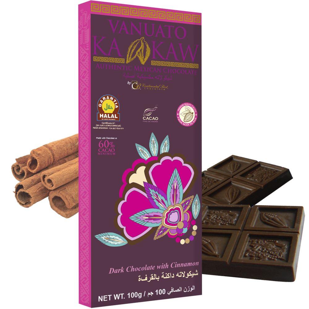 Vanuato Kakaw Cinnamon Dark Chocolate