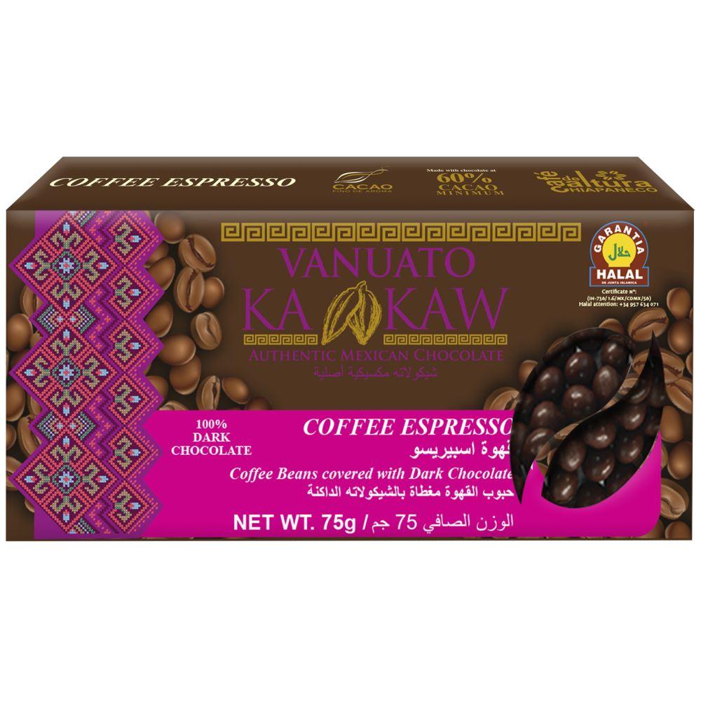 Vanuato Kakaw Coffee Espresso Chocolate