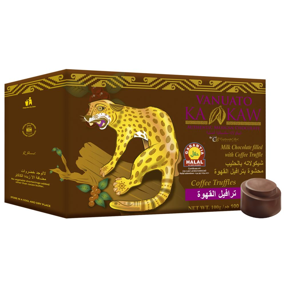 Vanuato Kakaw Chocolate Coffee Truffles