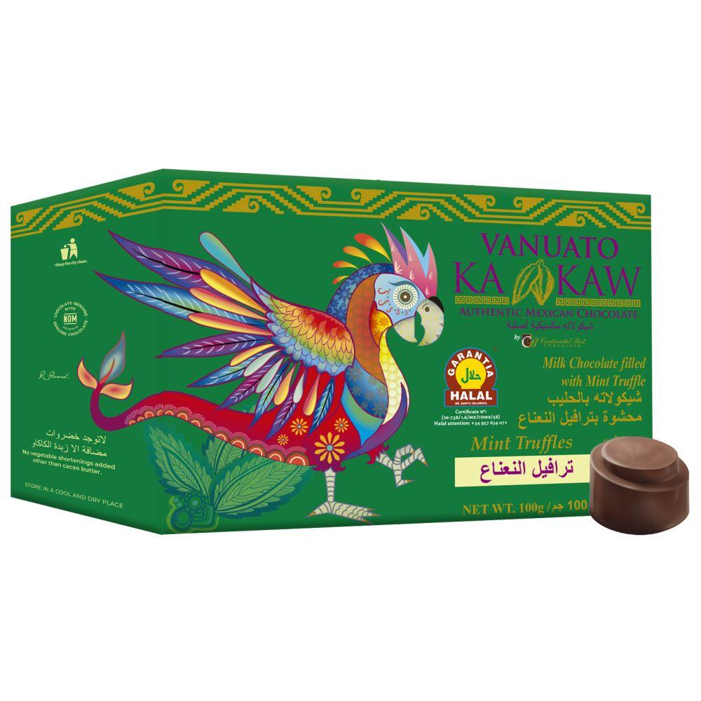 Vanuato Kakaw Mint Truffles