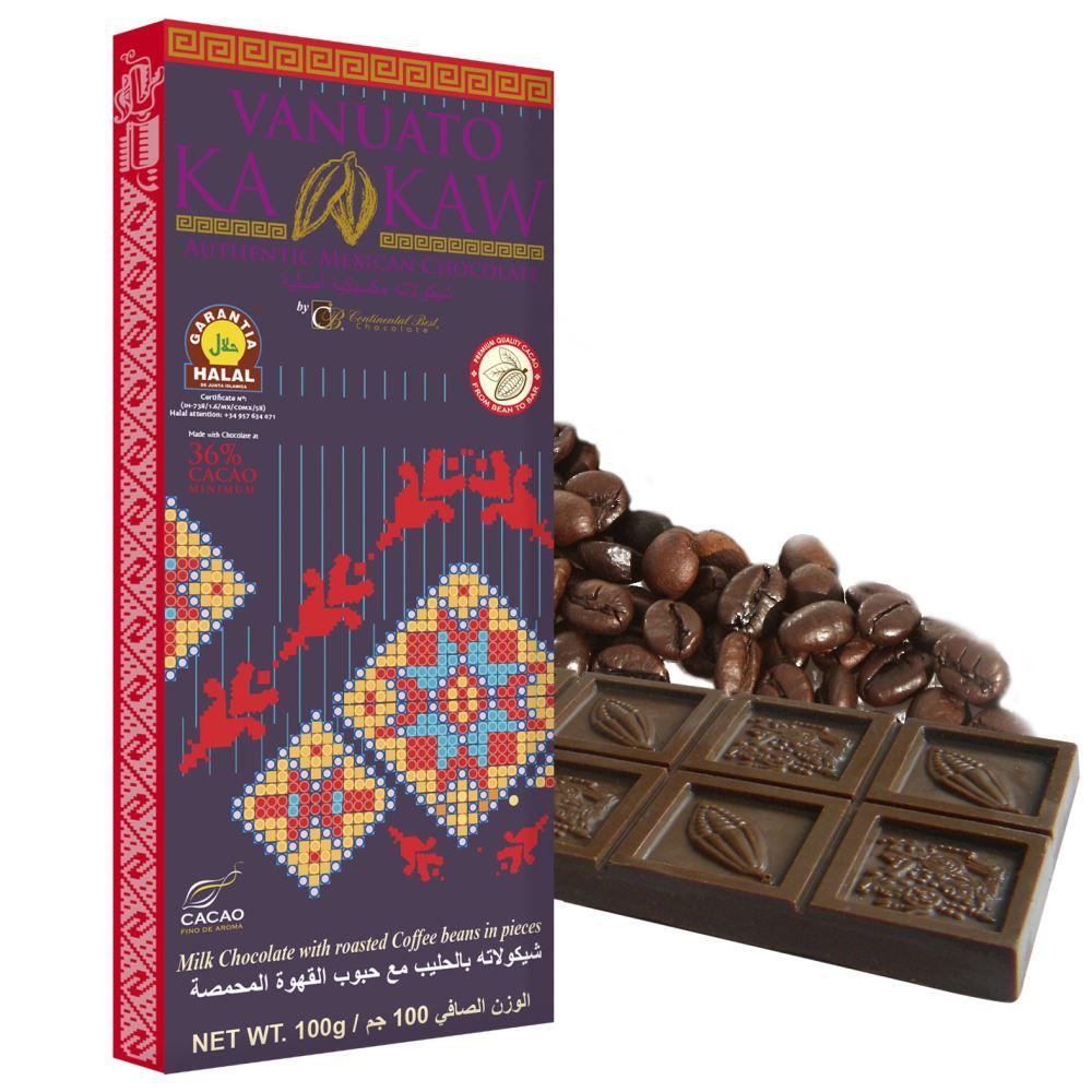 Vanuato Kakaw Moka Chocolate