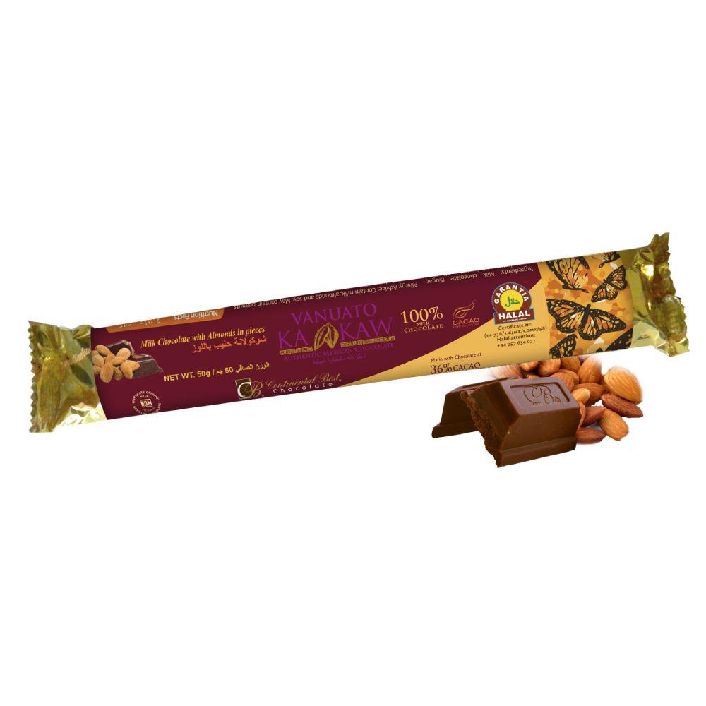 Vanuato Kakaw Almond Chocolate Bar