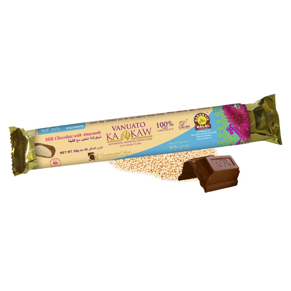 Vanuato Kakaw Amaranth Chocolate Bar