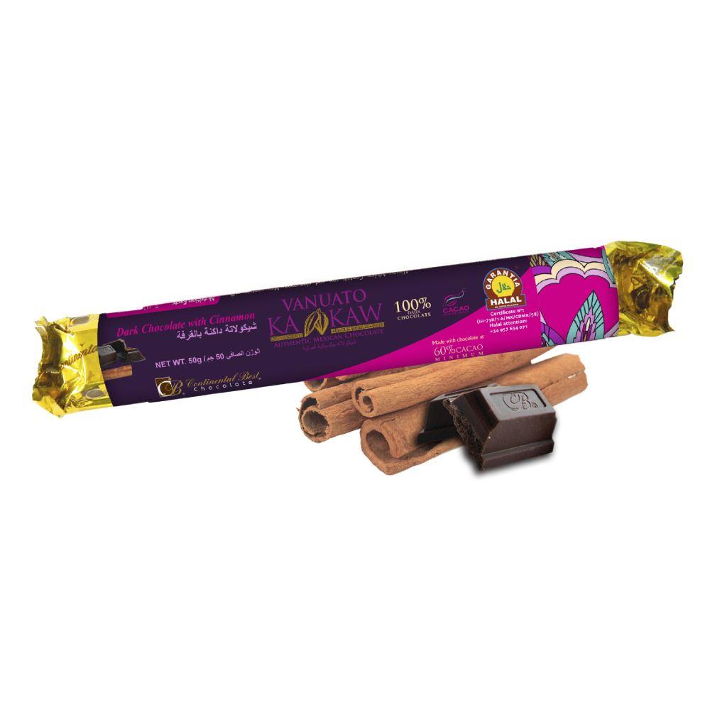 Vanuato Kakaw Cinnamon Dark Chocolate Bar