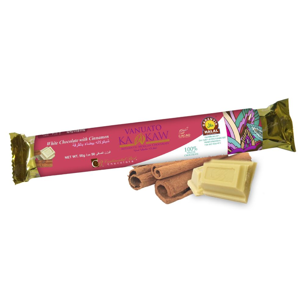 Vanuato Kakaw Cinnamon White Chocolate Bar