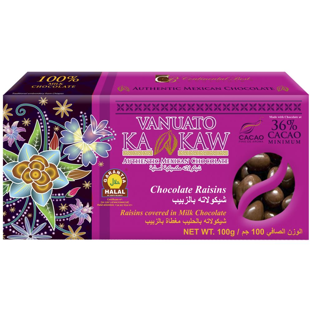 Vanuato Kakaw Chocolate Raisins