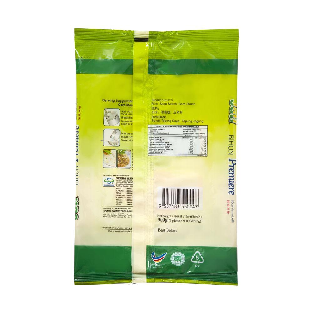 Jati Premium Bihun (Rice Vermicelli)