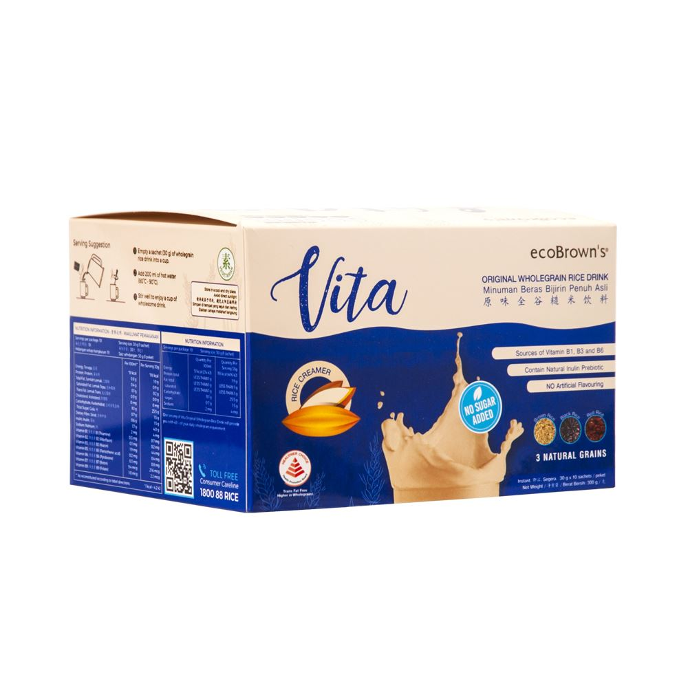 ecoBrown's Vita ORIGINAL Wholegrain Rice Drink