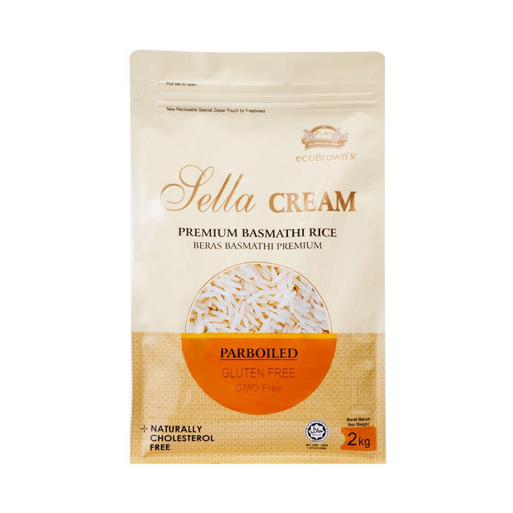 Sella Cream Premium Parboiled Basmathi Rice