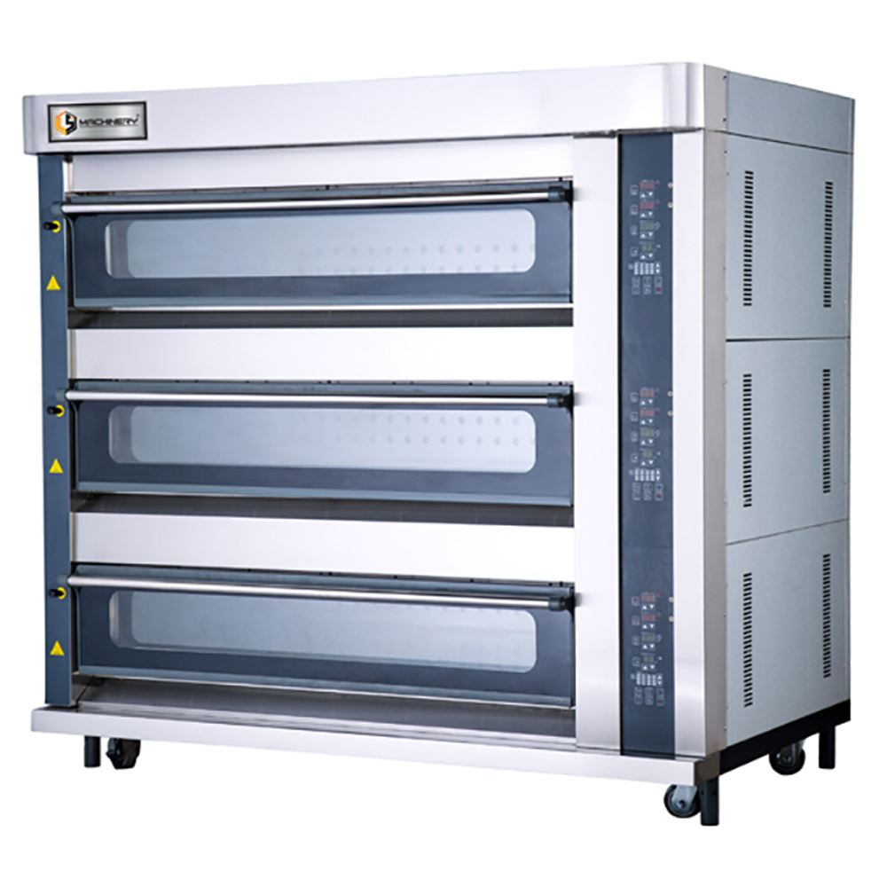 Luxury Gas Deck Oven | Bakery/Pastry Equipment Supplier And Manufacturer Malaysia
