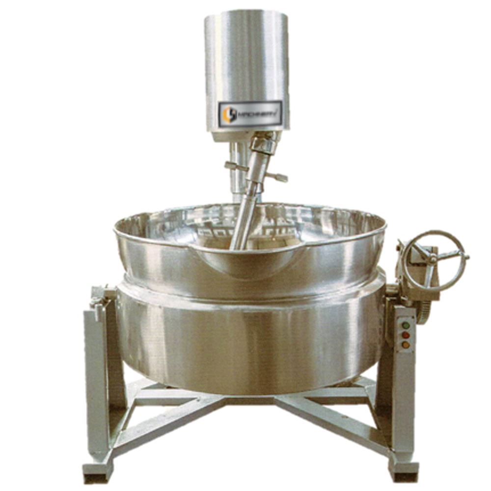 Steam Heated Insulated Cooker Mixer | Bakery/Pastry Equipment Supplier And Manufacturer Malaysia