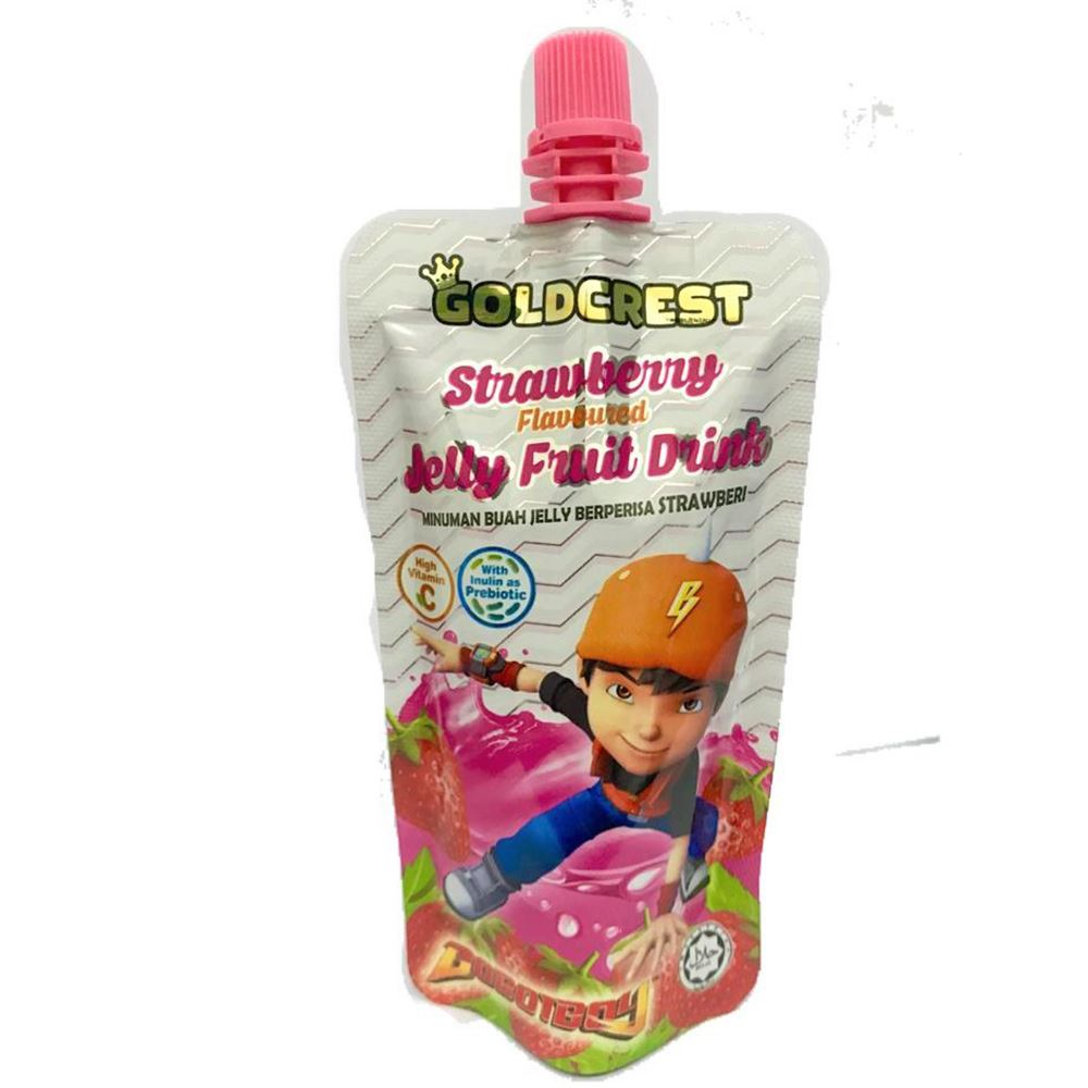 BoboiBoy Jelly Fruit Drink Strawberry