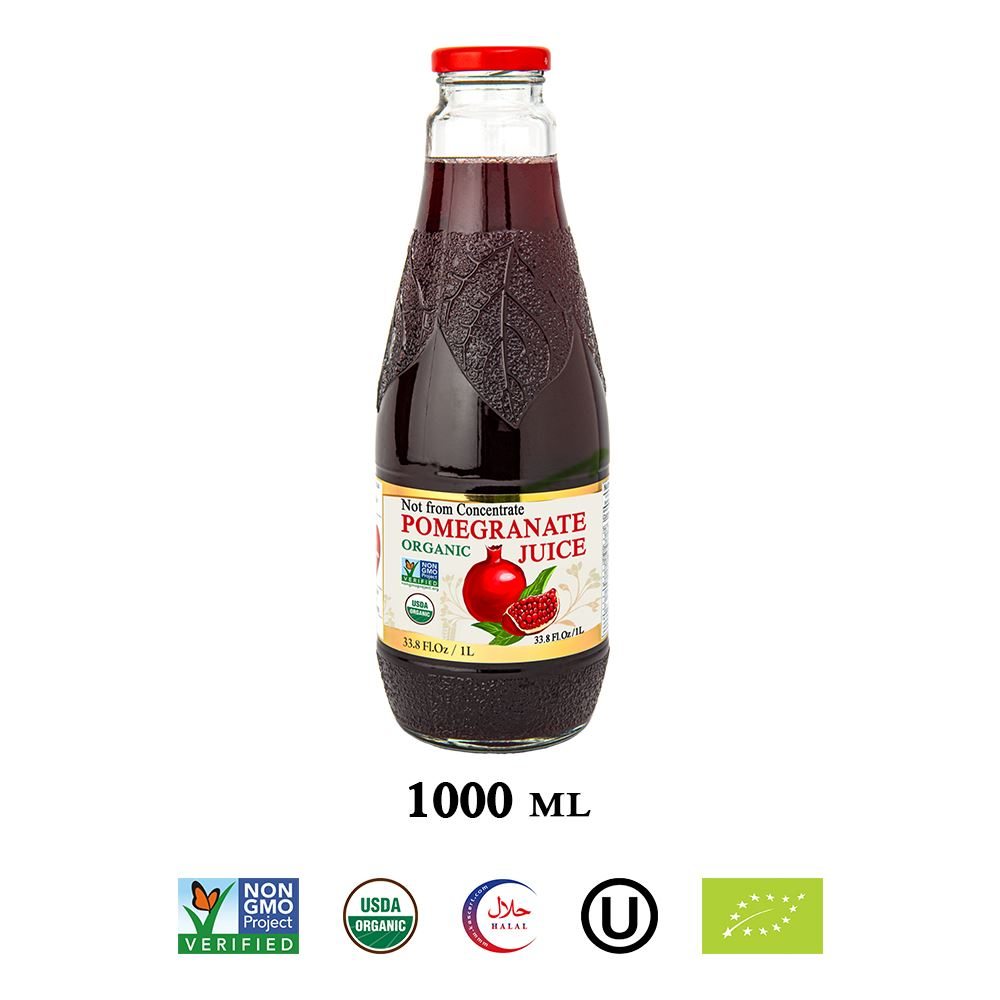 100% Organic Pomegranate Juice