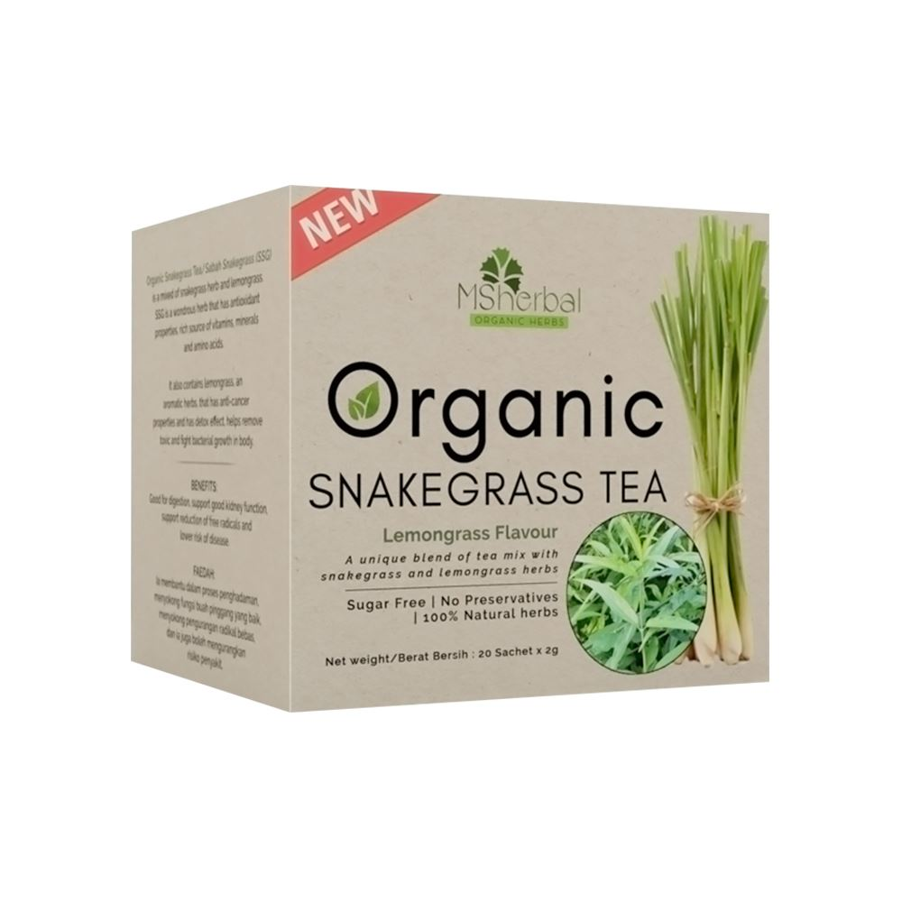 Organic Snakegrass Tea with Lemongrass