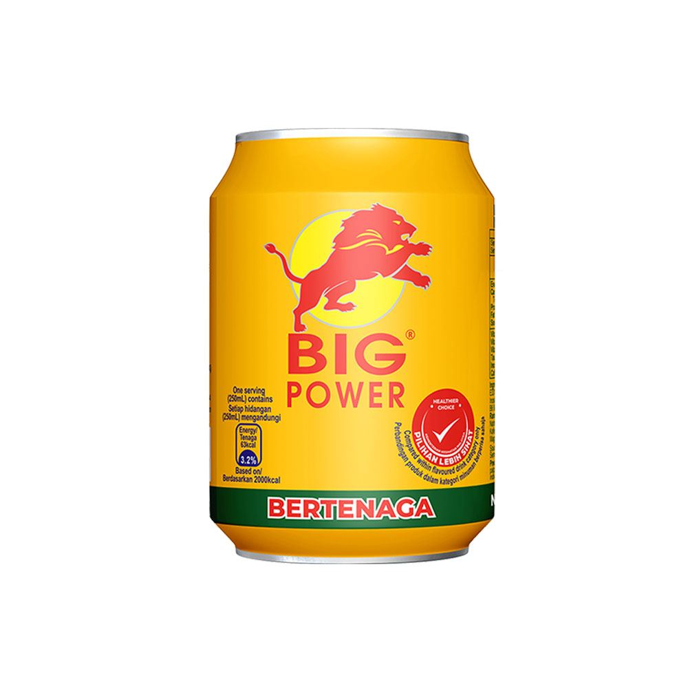 "BIG POWER"" Energy Drink (Non-carbonated) 250mL"