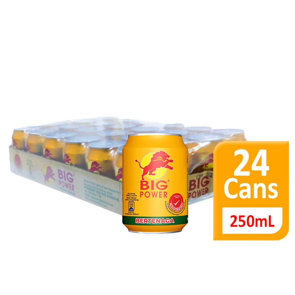 """BIG POWER"""" Energy Drink (Non-carbonated) 250mL"""