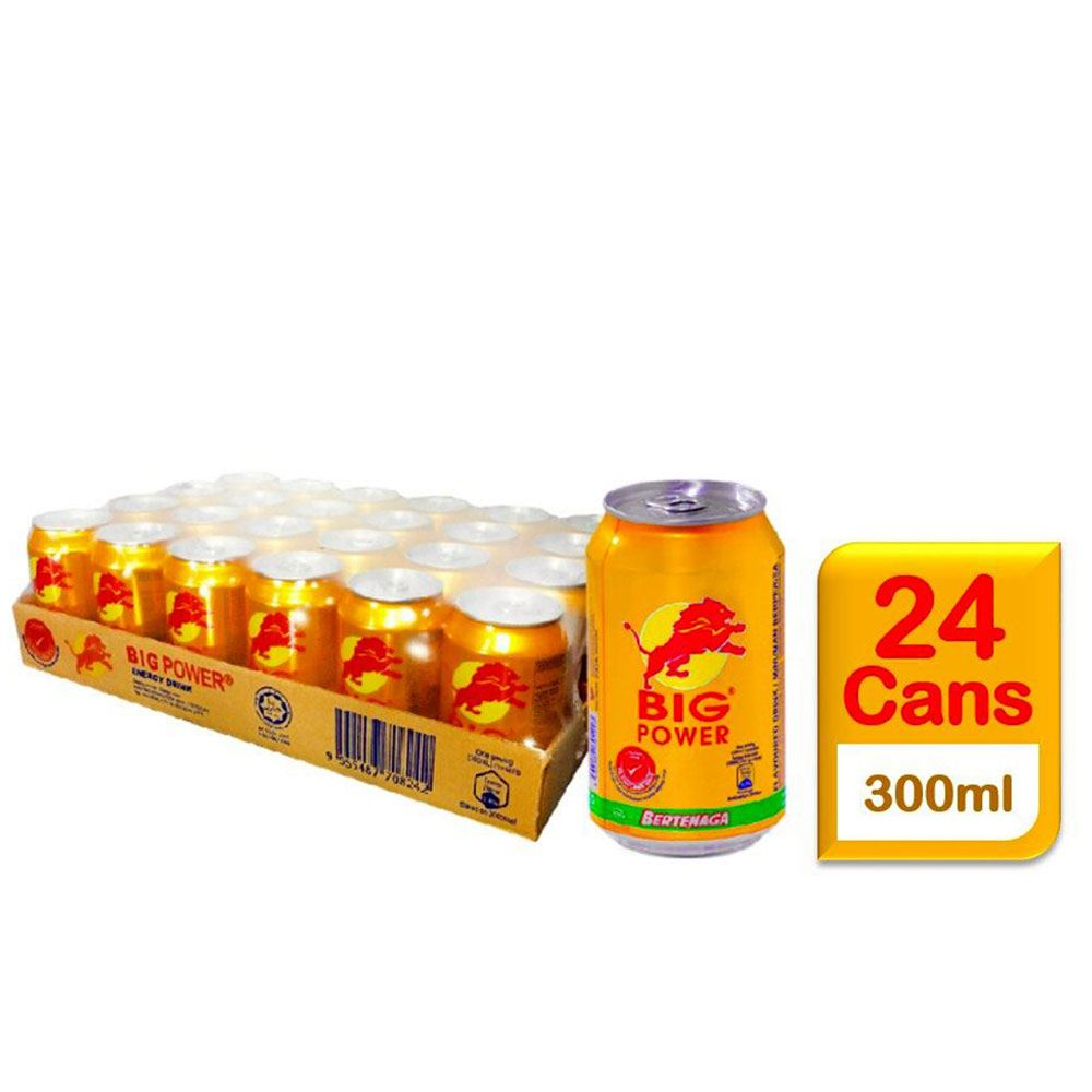 BIG POWER Energy Drink (Non-carbonated) 300mL