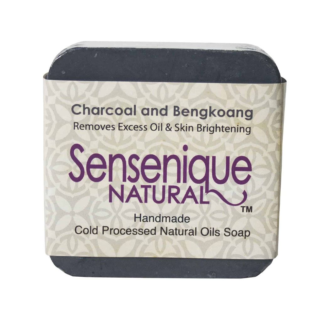 Sensenique Natural – Charcoal and Bengkoang Natural Handmade Soap