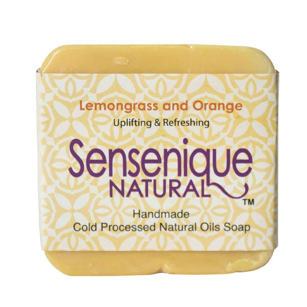 Sensenique Natural – Lemongrass and Orange Natural Handmade Soap