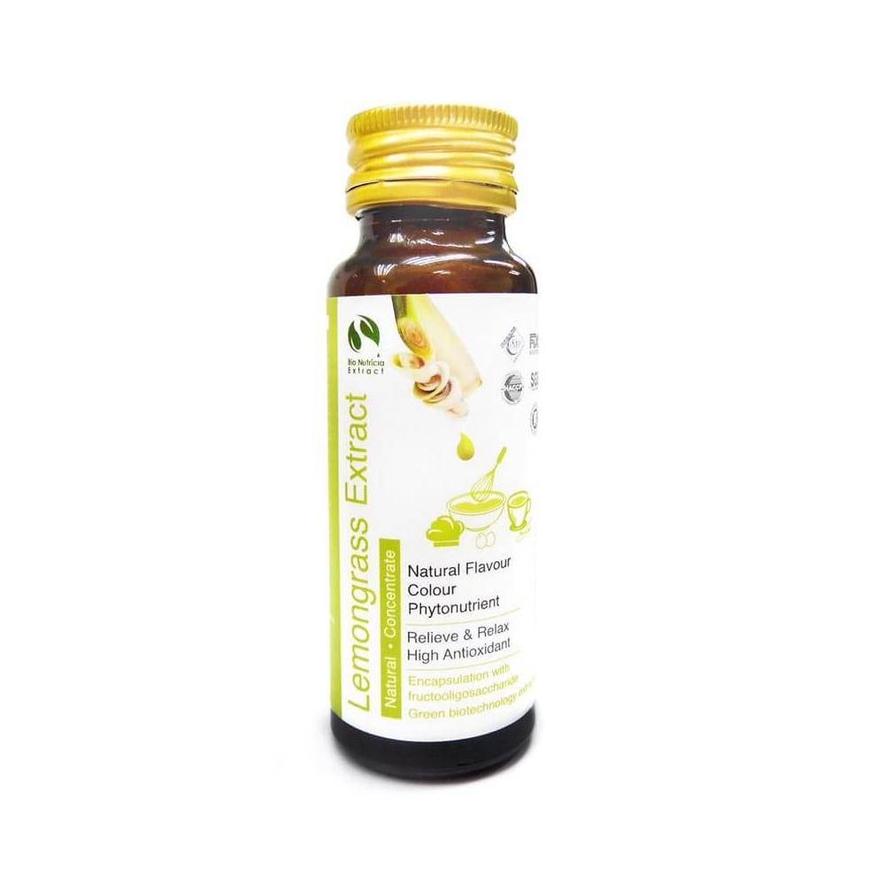 Lemongrass (Cymbopogon citratus) Standardized Extract Liquid Concentrate, Fresh Natural Asian Gourme