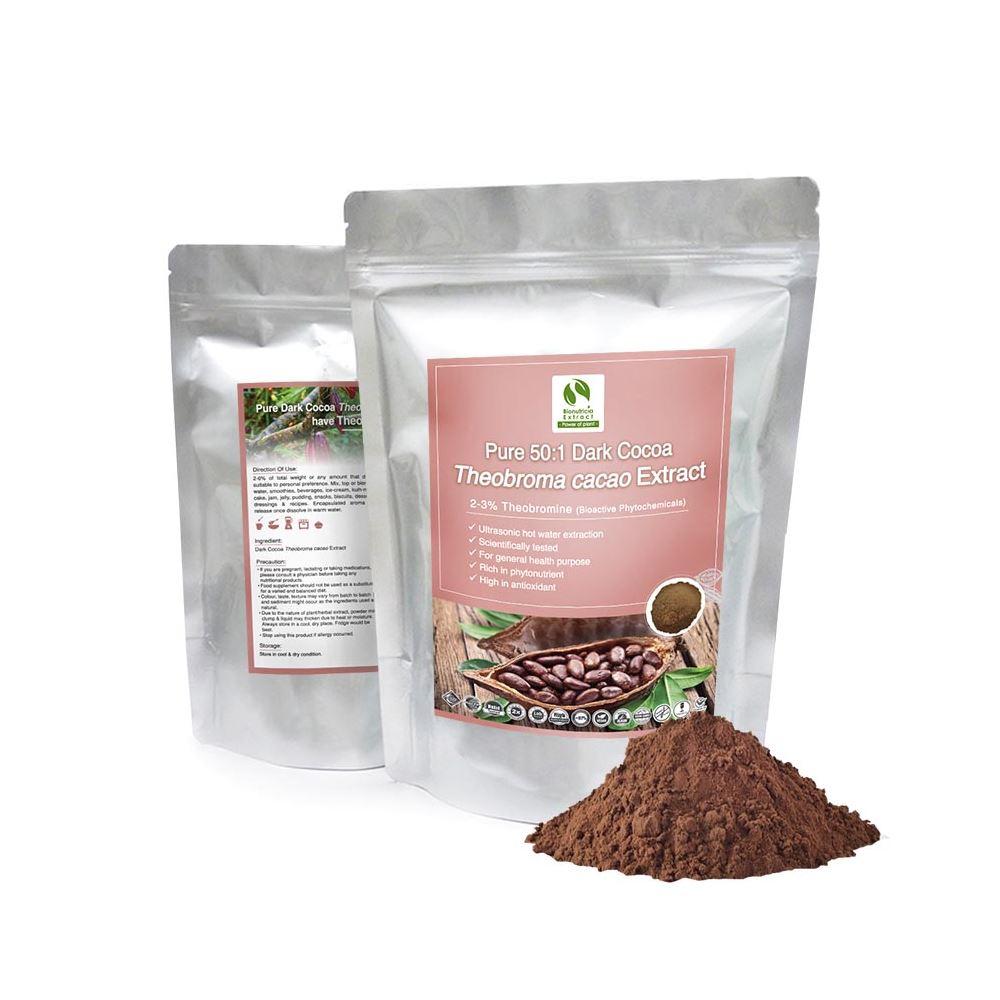 Dark Cocoa (Theobroma Cacao) Standardized Extract Powder