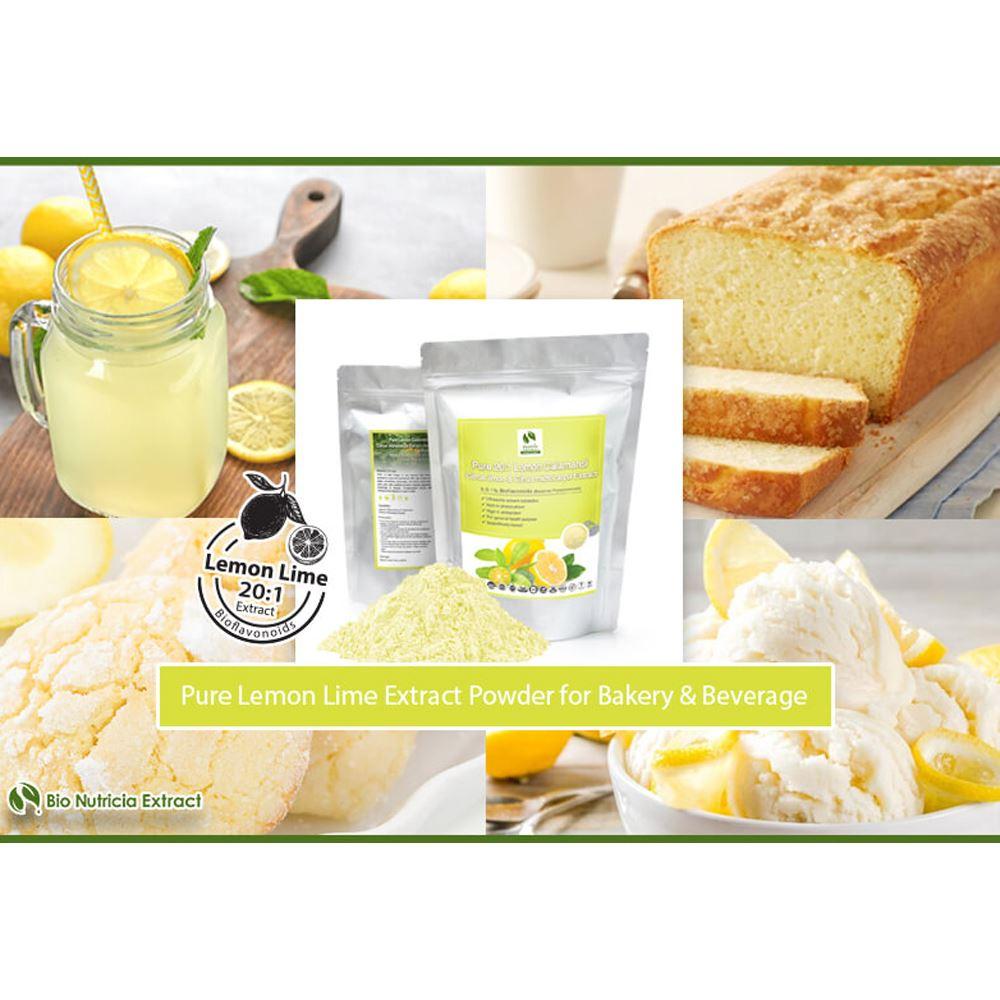 Lemon Lime (Lemon Citrus Limon & Calamansi Citrus Microcarpa) Standardized Extract Powder