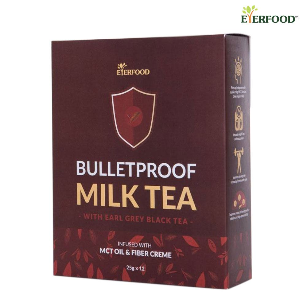 Bulletproof Milk Tea Beverage