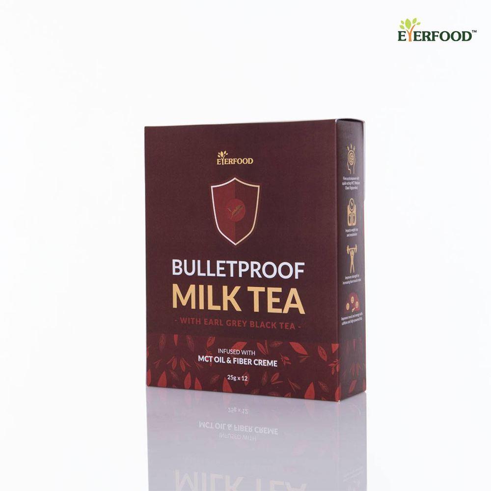 Bulletproof Milk Tea Beverage