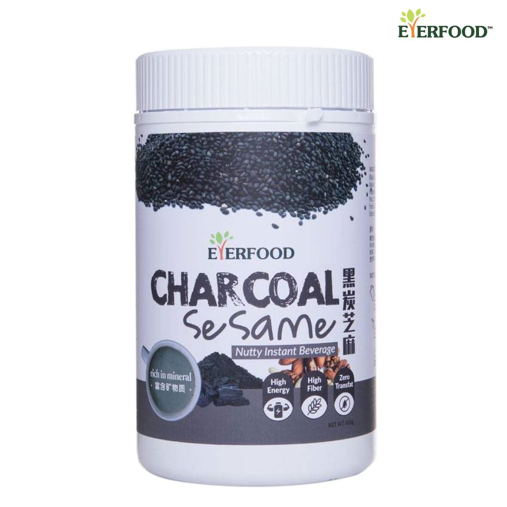 Charcoal Sesame Nutty Instant Beverage
