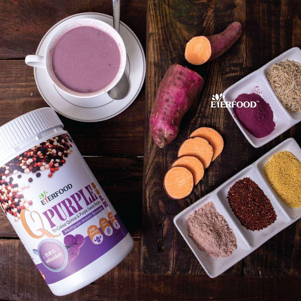 Q Purple Multigrain Instant Beverage
