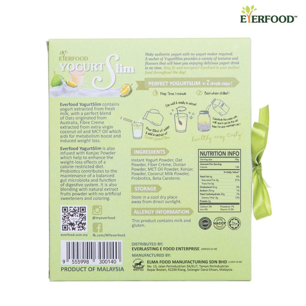 Instant Beverage Yogurt Slim (Durian)