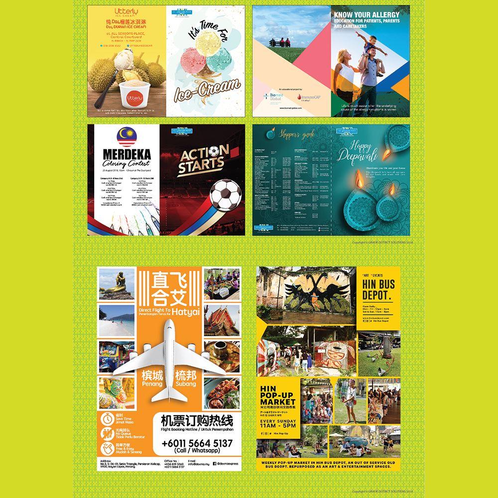 Graphic Design, Branding & Corporate Identity System