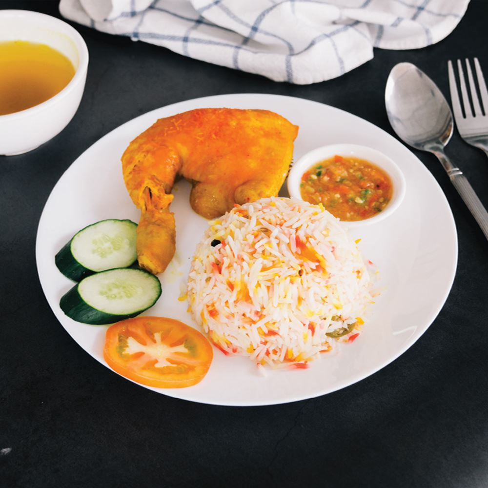 Arabic Chicken Kabsah With Rice