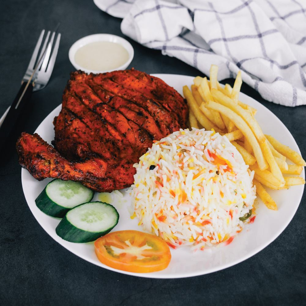 Arabic BBQ Chicken With Rice