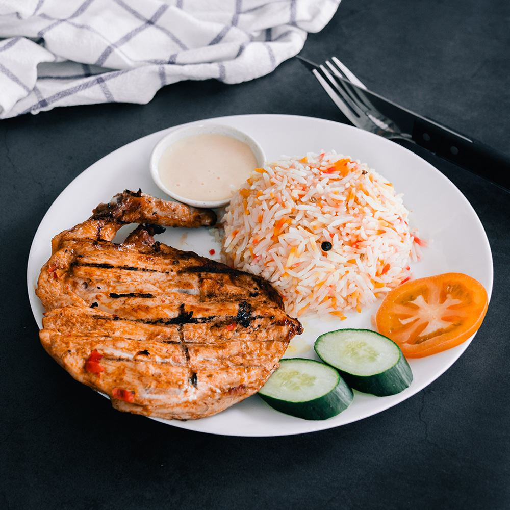 Alanna's Special Grilled Chicken With Rice