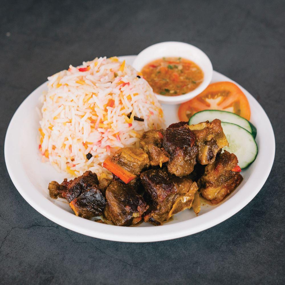 Arabic Lamb Mandy With Rice