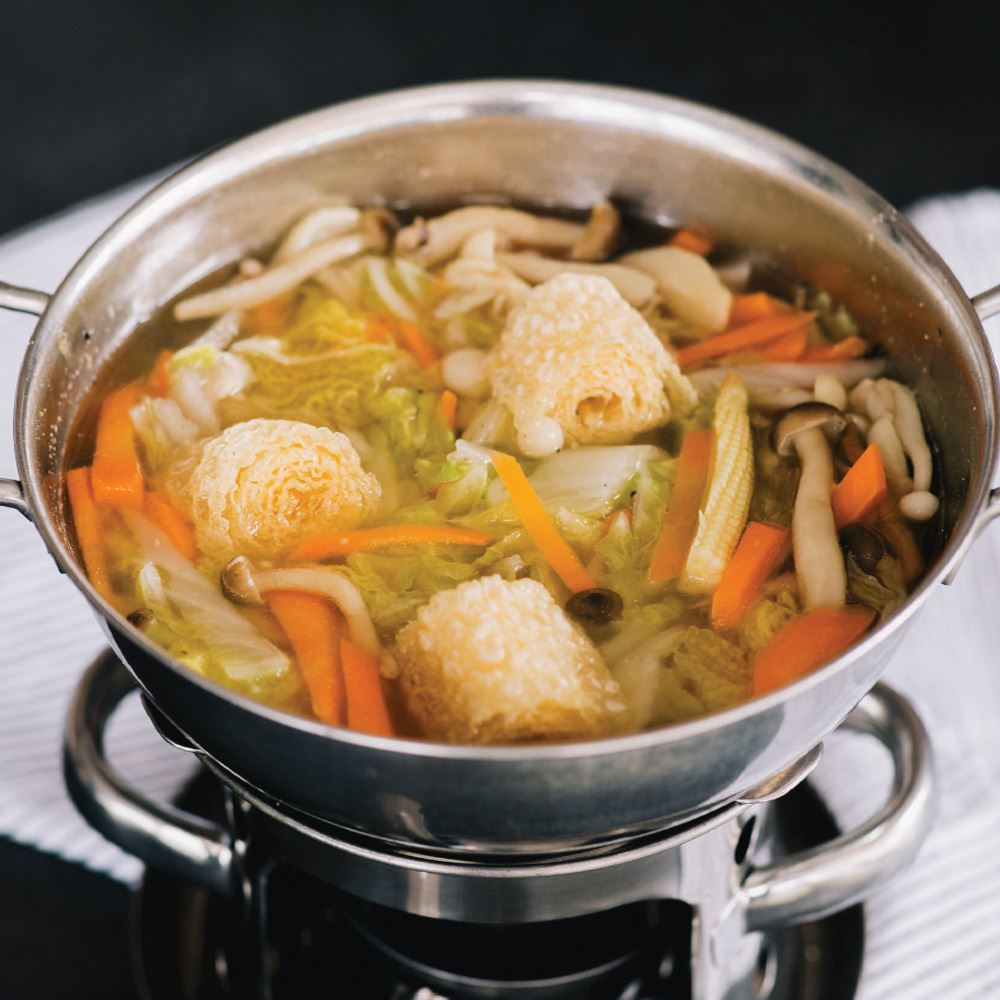 Vegetarian Hot Pot with Udon