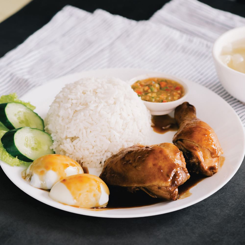 Soy Sauce Chicken with Rice
