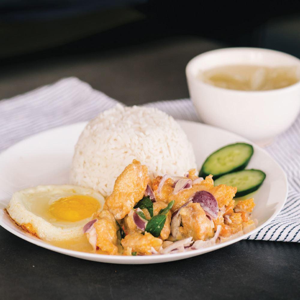 Buttermilk Chicken with Rice