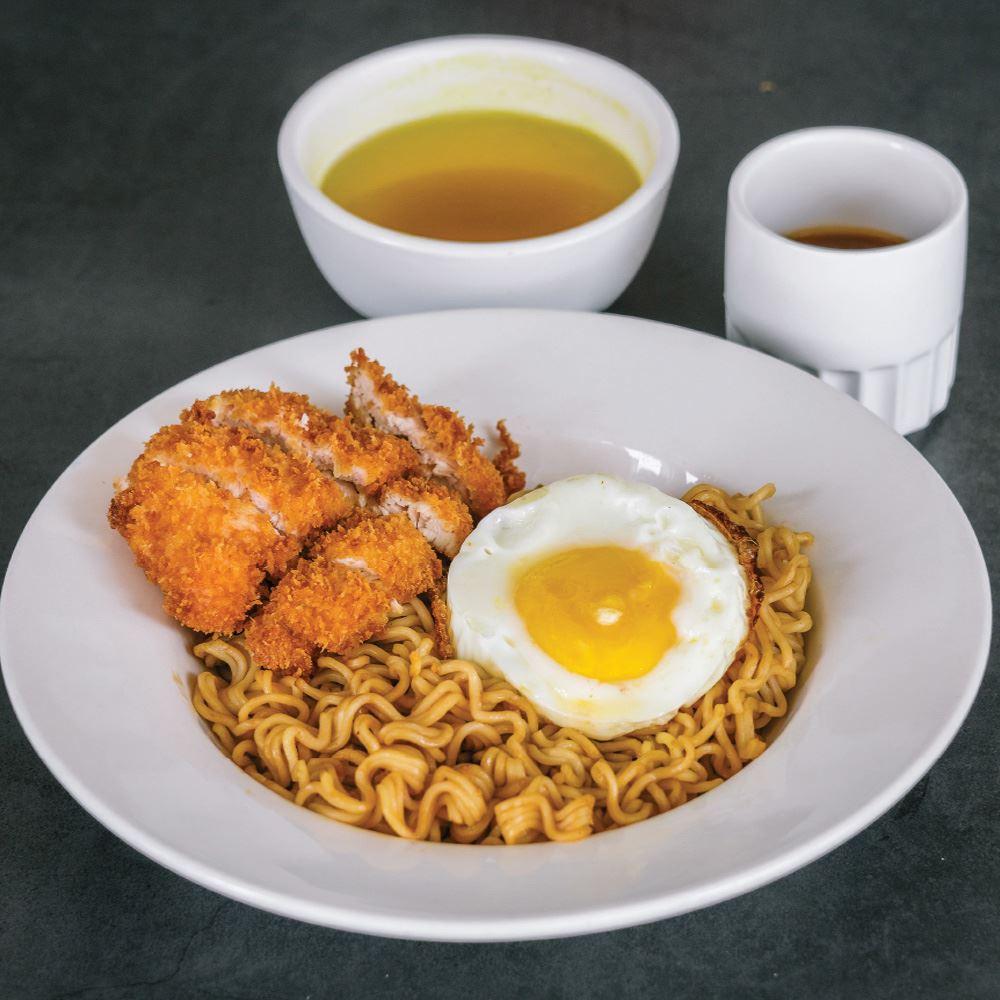 Dry Noodle Crispy Chicken