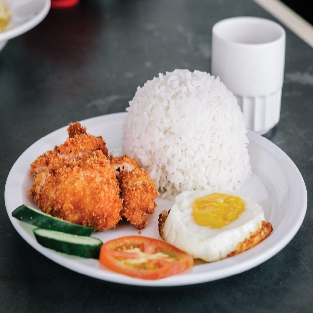 Crispy Chicken Rice