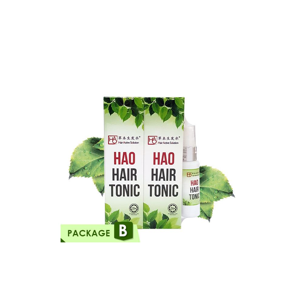 HAO Hair Tonic Twin Pack x2 & FOC 30ml x1