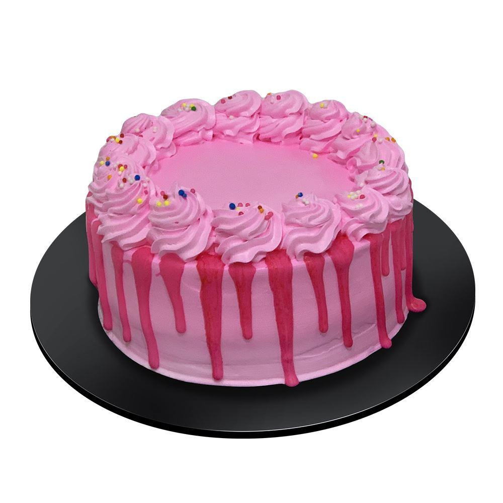 Creme Strawberry Cake