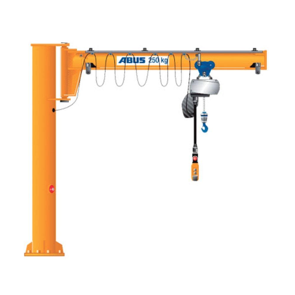 AIMTOP Best Selling Electric Hoist Slewing Jib Crane